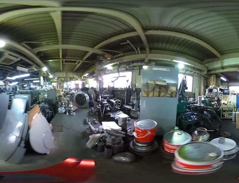 工場360°動画 2回目