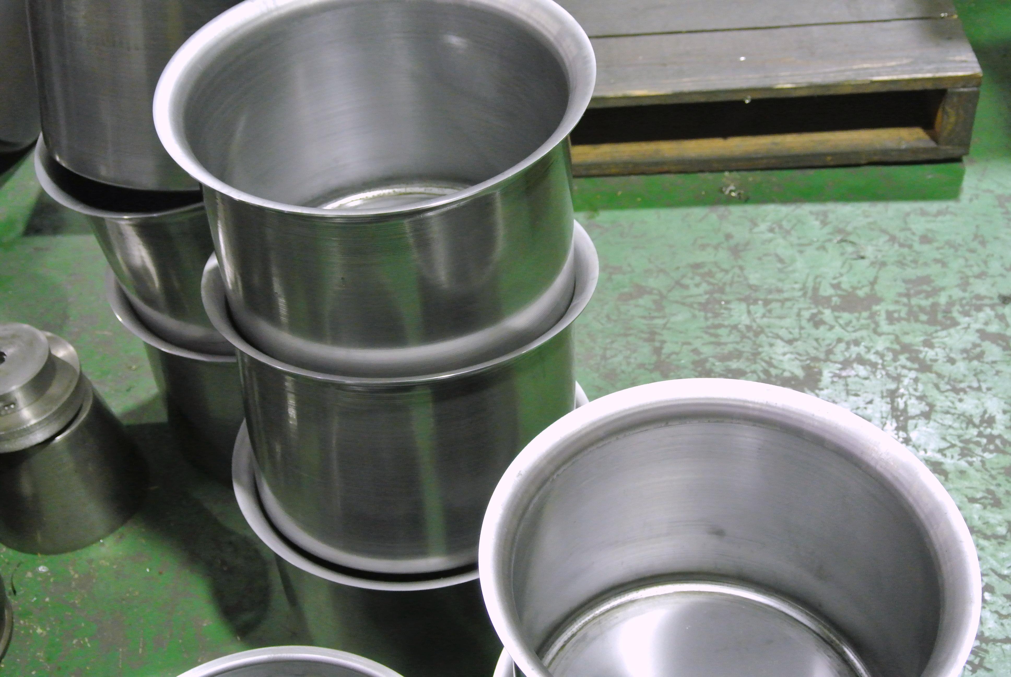 鉄2.0t ヘラシボリ加工(NC)