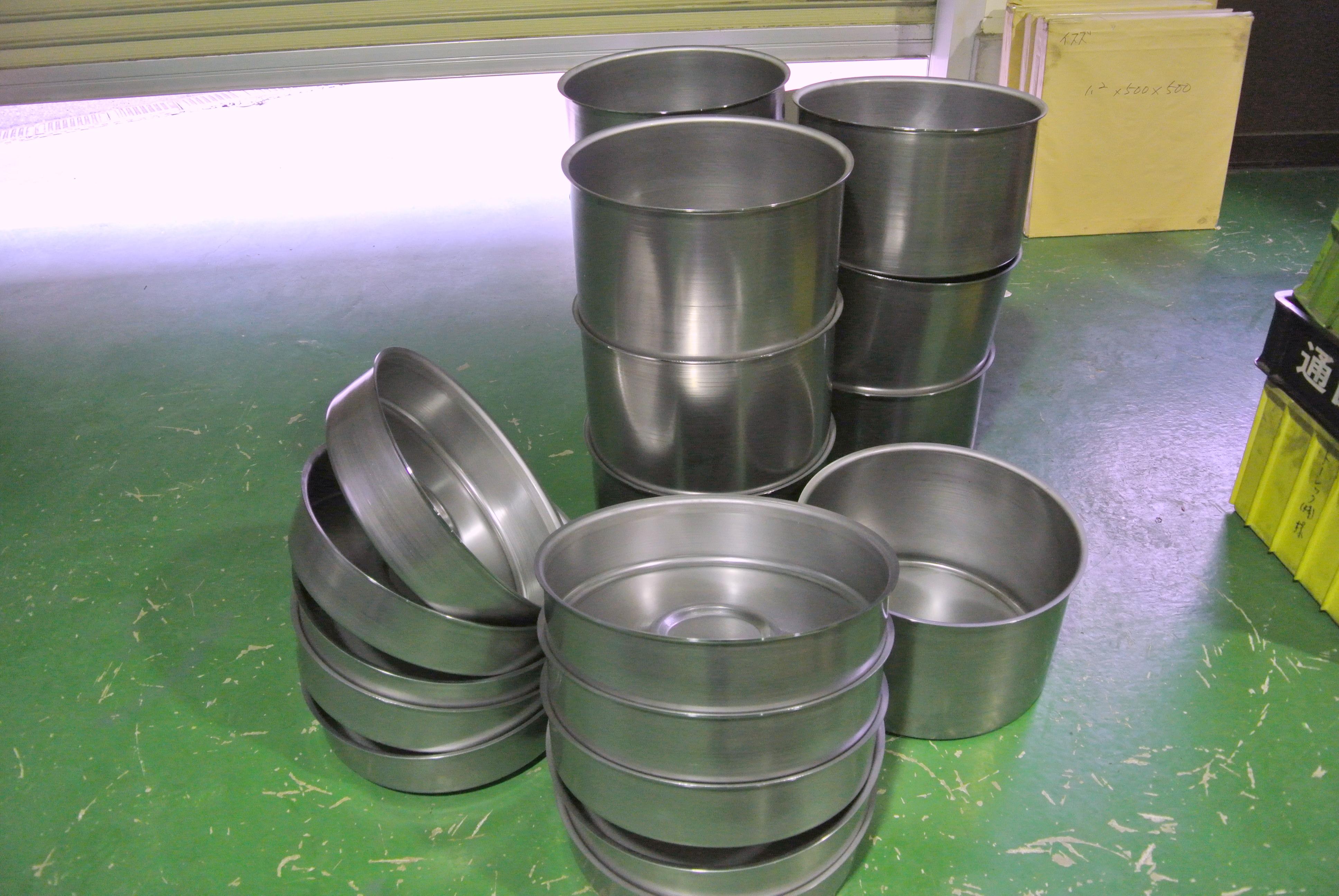 鉄2.0t タンク2種 ヘラシボリ加工品